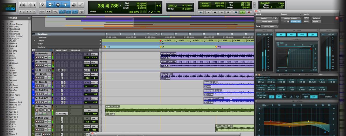 Professional Audio Production